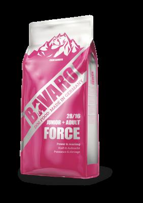 Bavaro Force (Junior/Adult 28/16) полнорационный корм для активных собак всех пород и щенков от 2 месяцев