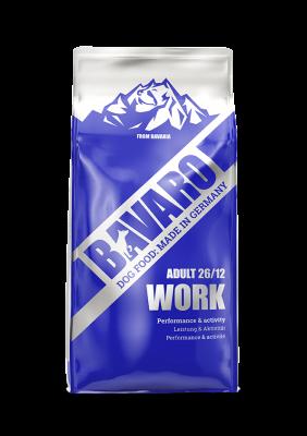Bavaro Work (Adult 26/12) для взрослых собак всех пород с регулярными физическими нагрузками