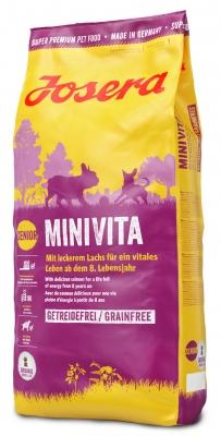 MiniVita (Adult Mini/Sensitive 25/14) для взрослых малоактивных собак миниатюрных пород, склонных к избыточному весу