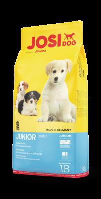 JosiDog Junior полнорационный корм для собак всех пород начиная с 8-й недели жизни